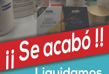 PARASALUD PARAFARMACIA LIQUIDACIÓN DE TODA LA COSMÉTICA DE PRIMERAS MARCAS