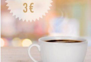 Mil Hojas + café con leche 3 €