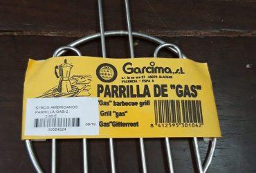 PARRILLA PARA GAS