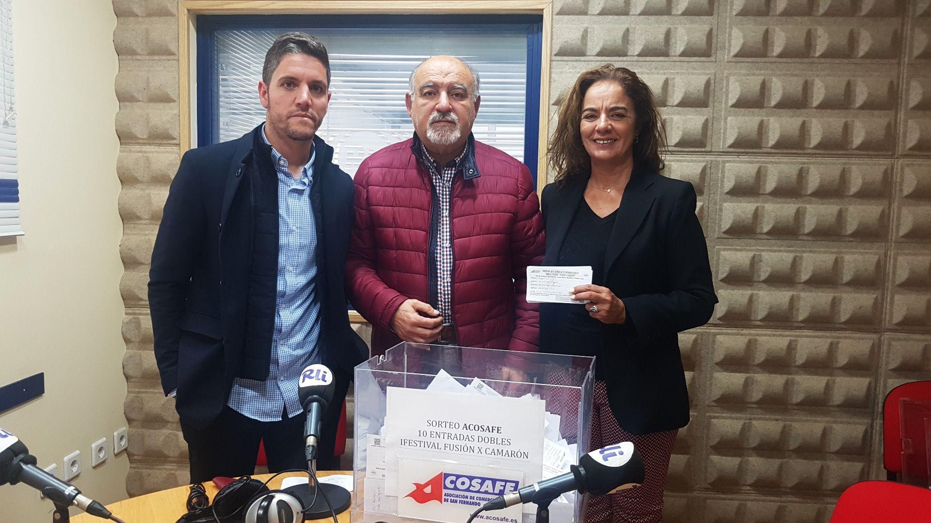 GANADORES DEL SORTEO DE 10 ENTRADAS DOBLES I FESTIVAL FUSIÓN X CAMARÓN.