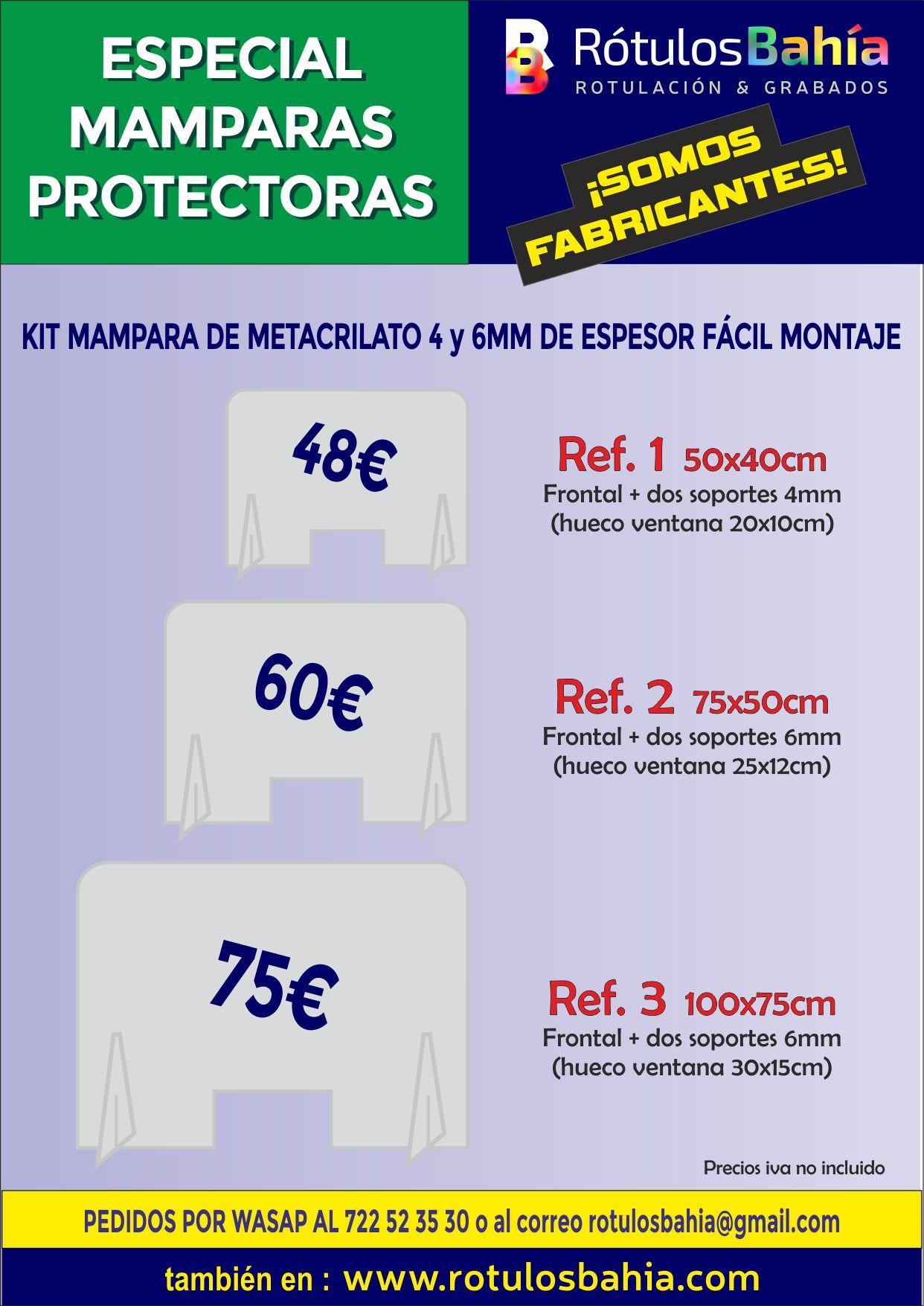 MAMPARAS CONTRA EL COVID-19