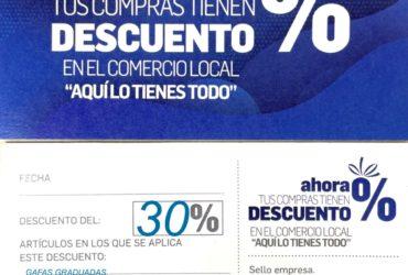 OFERTA ESPECIAL 30% DTO